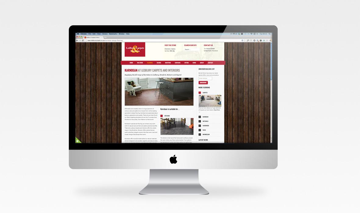 Home News New Ledbury Carpets & Interiors website launched