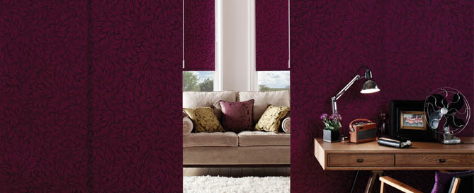 Panel Blinds at Ledbury carpets for hereford, Ledbury , Malvern and beyond