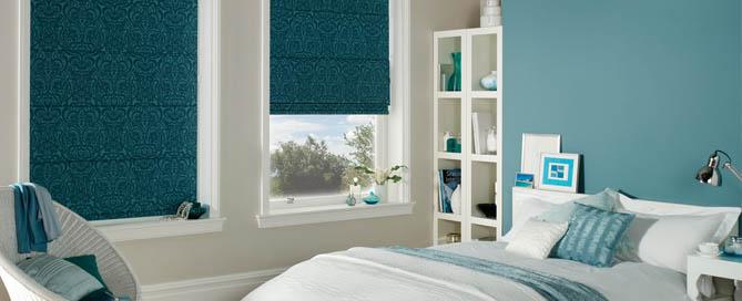 Roman Blinds at Ledbury carpets for hereford, Ledbury , Malvern and beyond