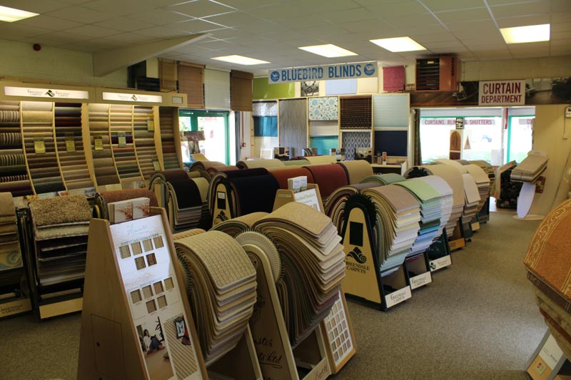 Carpets and Blinds at Ledbury Carpets & Interiors, Herefordshire
