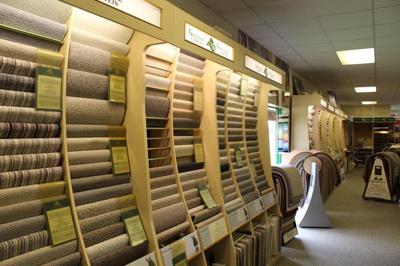 Great selection of Carpets to browse at Ledbury Carpets & Interiors, Herefordshire