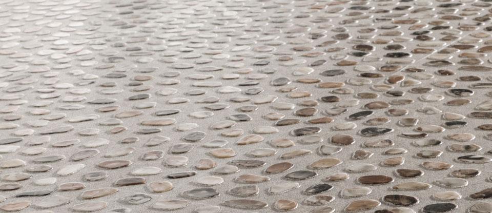 Pebble Vinyl Flooring Bathroom